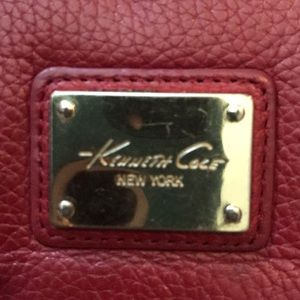 Kenneth Cole Bags - Kenneth Cole red wallet